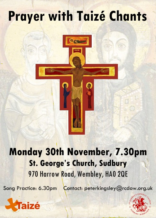 Taize Prayer - 30th November 2015